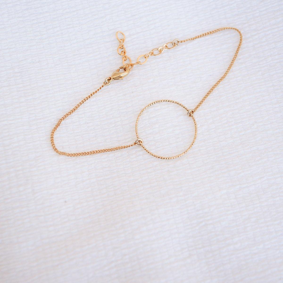 Image of Bracelet SÉLÉNÉ Doré