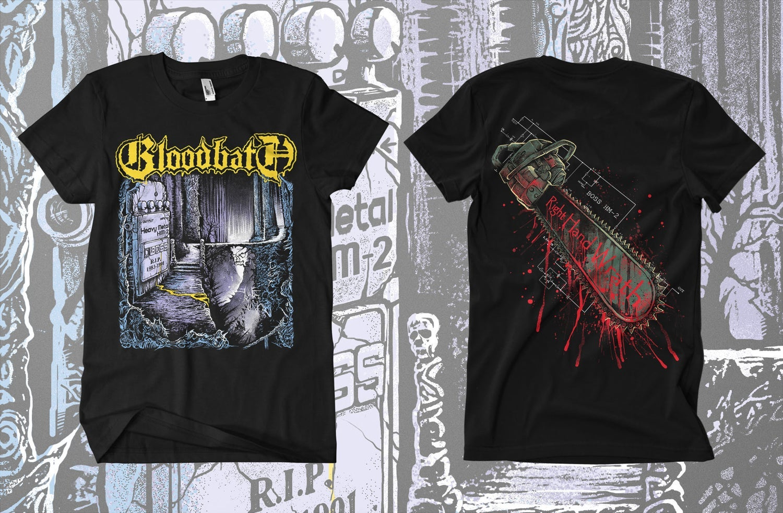 Image of BLOODBATH - 5 Designs Merch