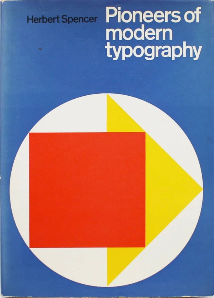 Image of (Herbert Spencer)(Pioneers of modern typography)
