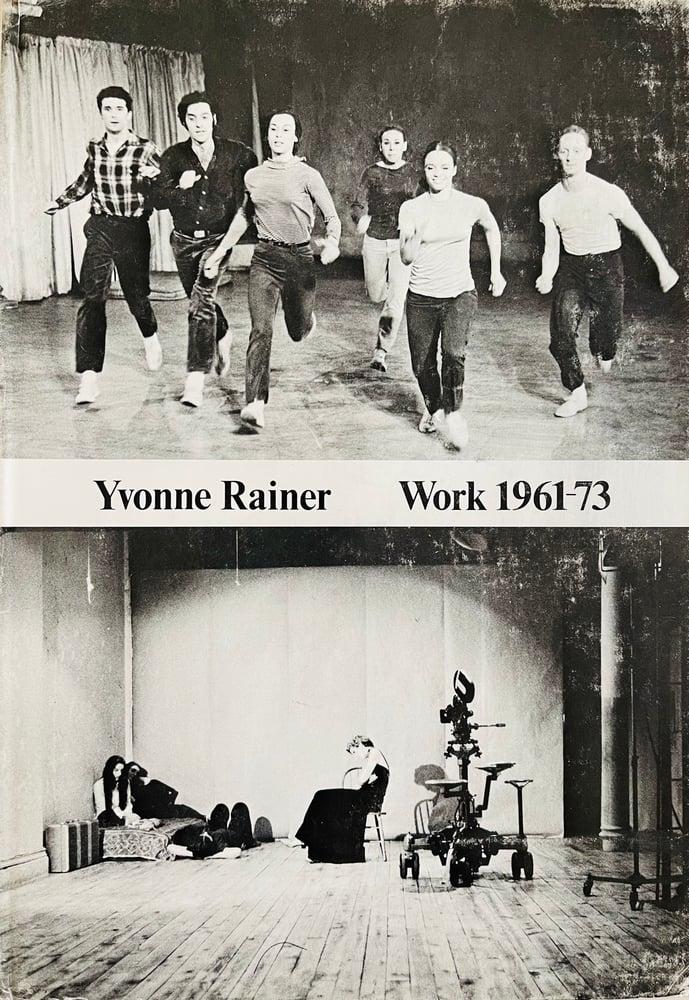 Image of (Yvonne Rainer)(Work 1961-73)