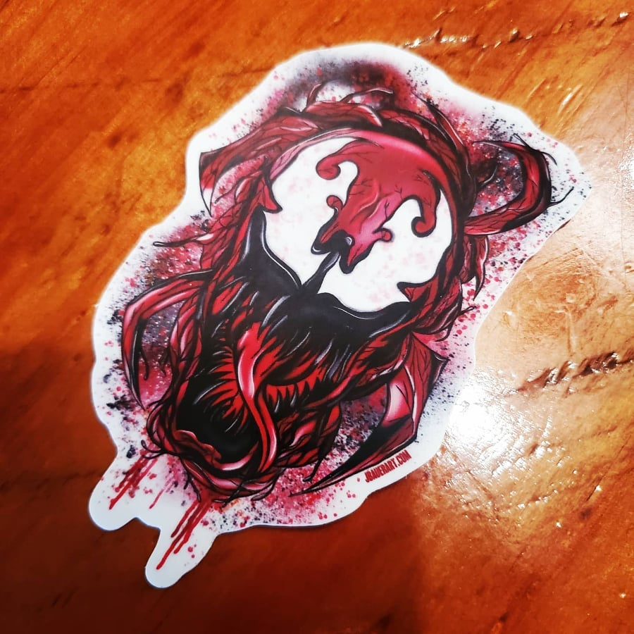 """""""Absolute CARNAGE"""" Sticker"""