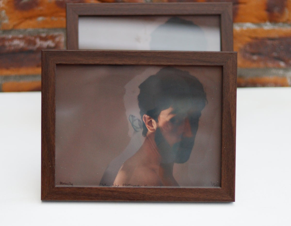 """Image of 8 x 6"""" Framed 'When She Photographs Him, No. 1' - 191st RHA Annual Exhibition"""
