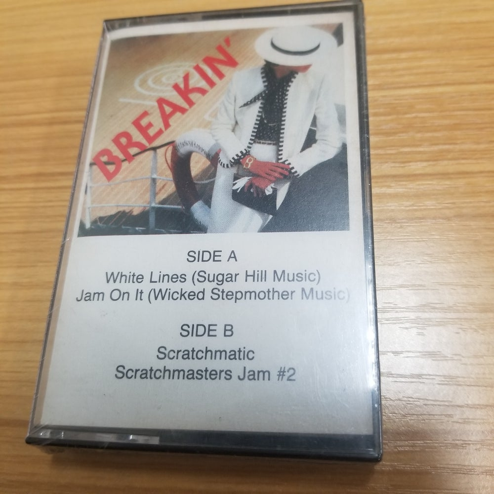 Private Electro Rap Tape- Breakin' and Scratchin' - SEALED