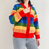 Colour Block Knitted Cardigan 🌈