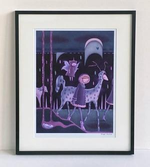 """Quiet Travelers"" art print"