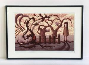 """Fall Scene"" art print"