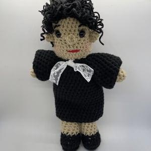 Sonia Sotomayor Crochet Doll