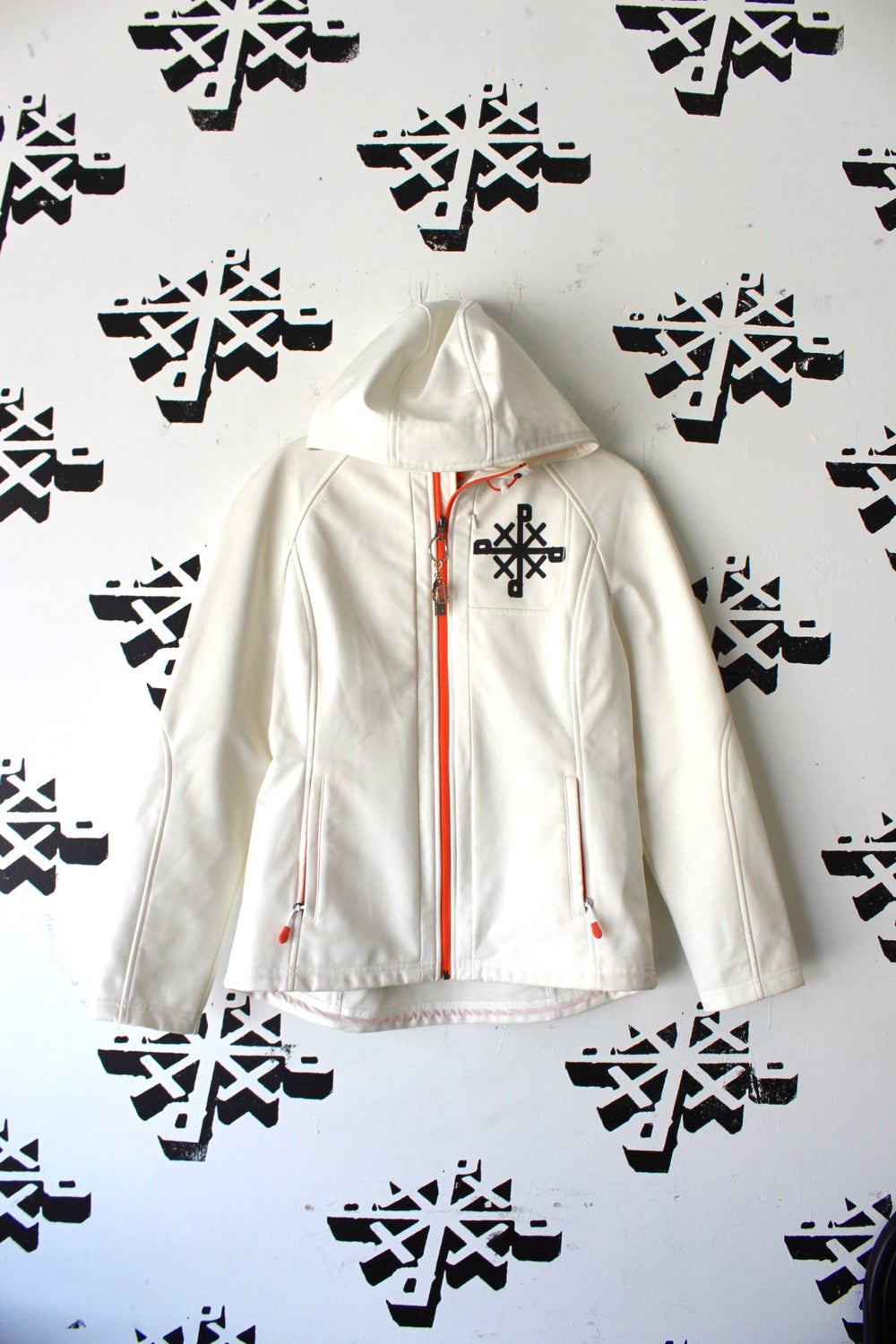 reparation$ jacket in white
