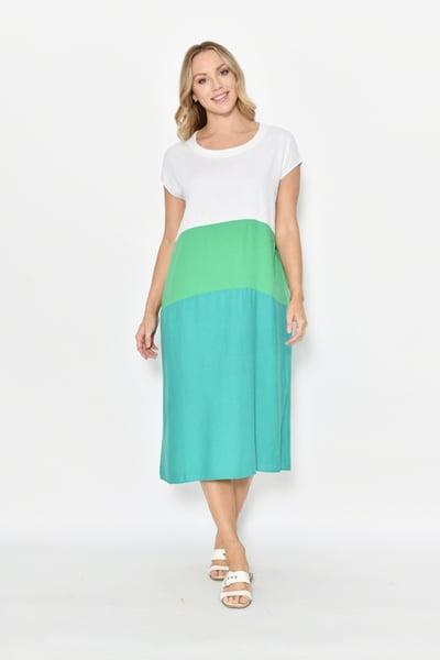 Image of Mel Three toned Dress