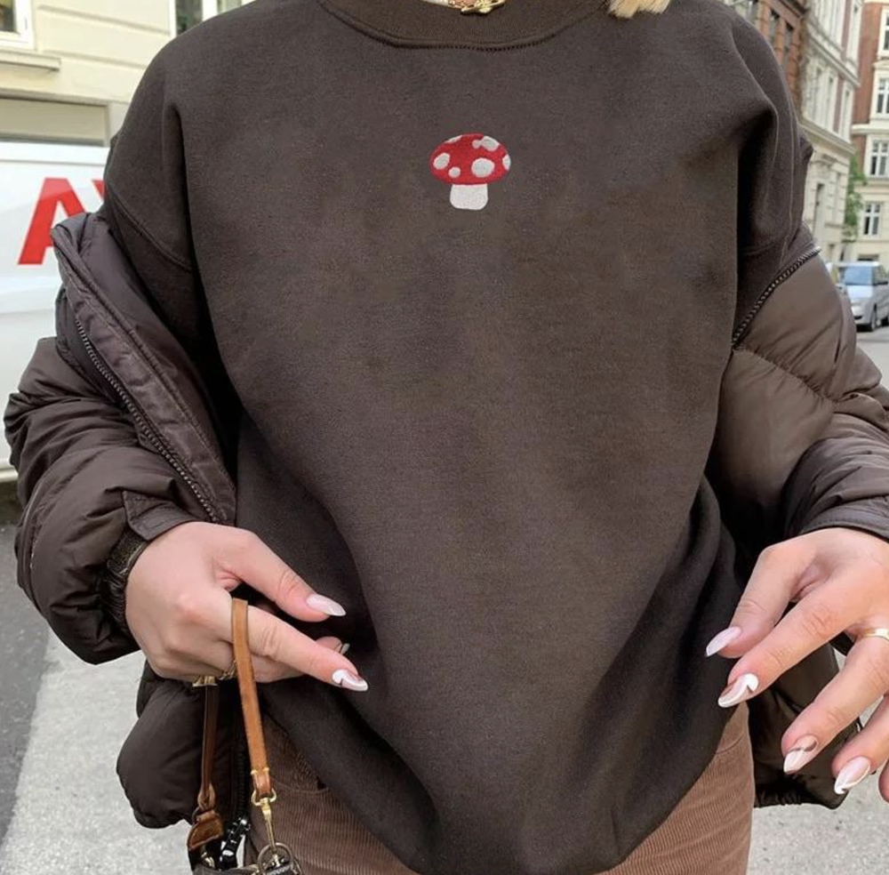 Image of Portobello Mushroom Sweatshirt