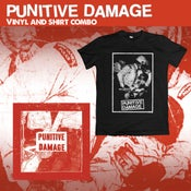 Image of (Pre-Order) Punitive Damage vinyl shirt combo