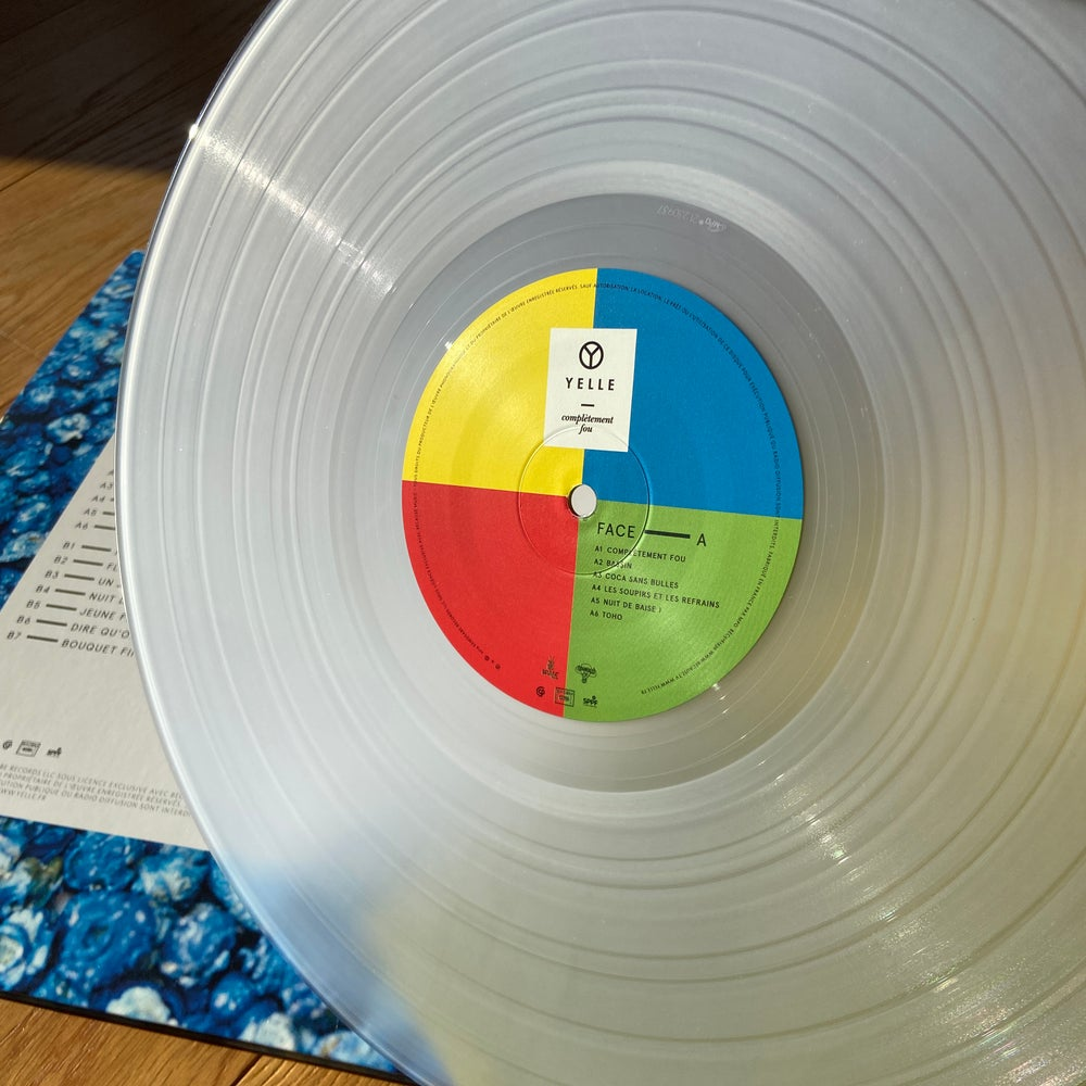 """Image of Yelle """"Completement Fou"""" vinyl reissue"""