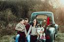 Image 1 of Green Truck- no Santa