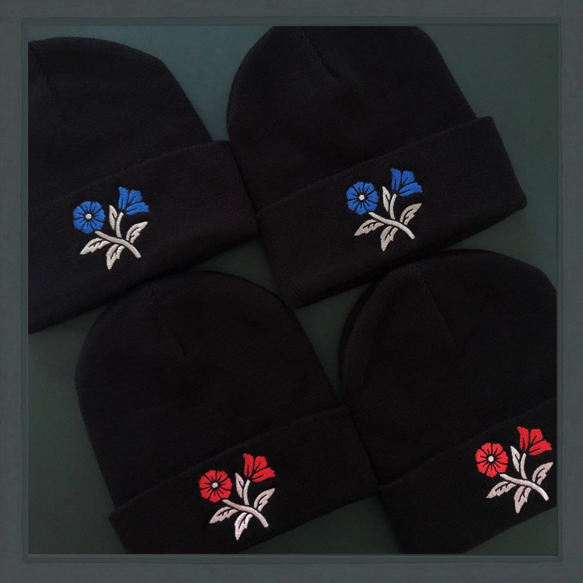 Image of *NEW* Floral Beanie