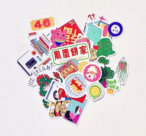 *Pre-Order* Chinatown New York Sticker Pack