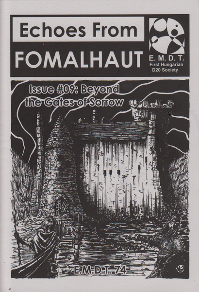 Image of Echoes From Fomalhaut #09: Beyond the Gates of Sorrow