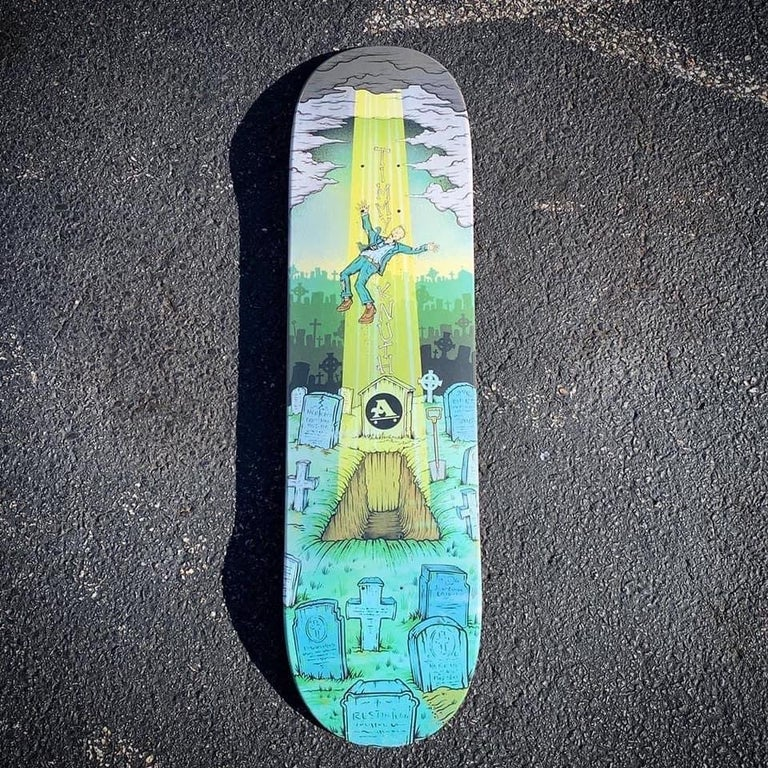 Image of GOONAN ABDUCTION / KNUTH RESSURECTION SKATEBOARDS