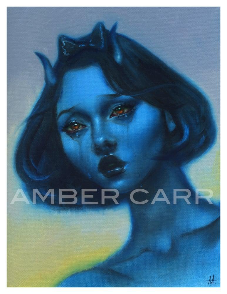 Image of Blue #2 Mini Print