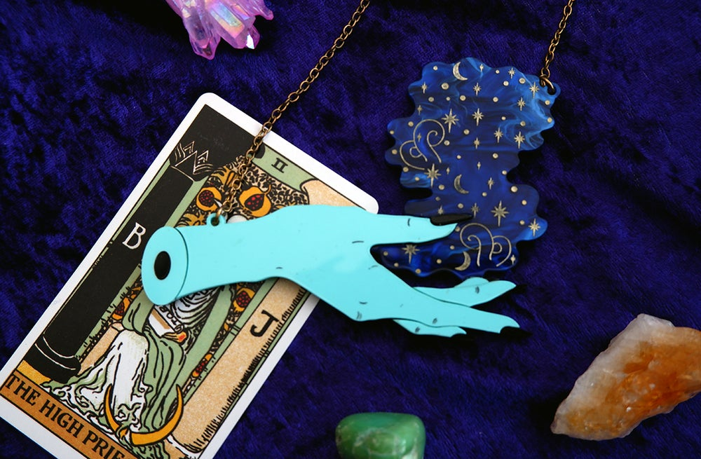 Image of Witches Magic Hand Necklace