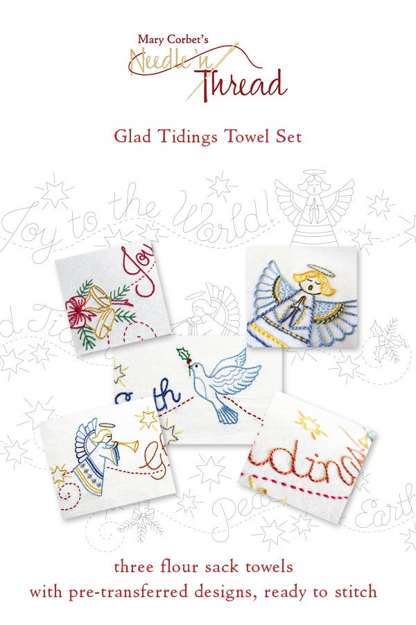 Image of Glad Tidings Towel Set