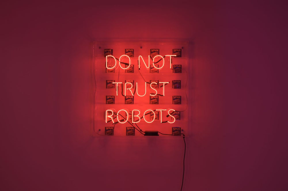 Image of Robot spam