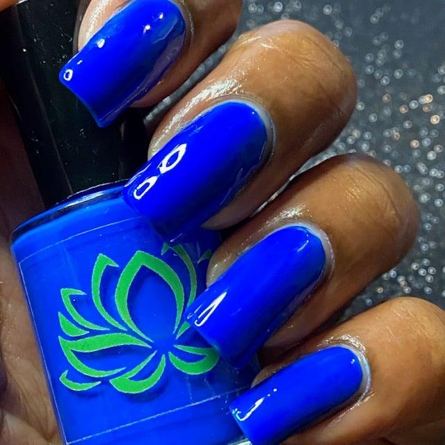 Blue Fish Neon