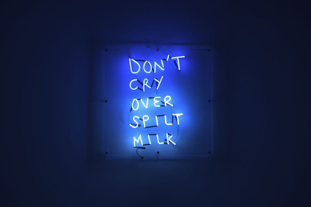 Image of Don't cry over spilt milk