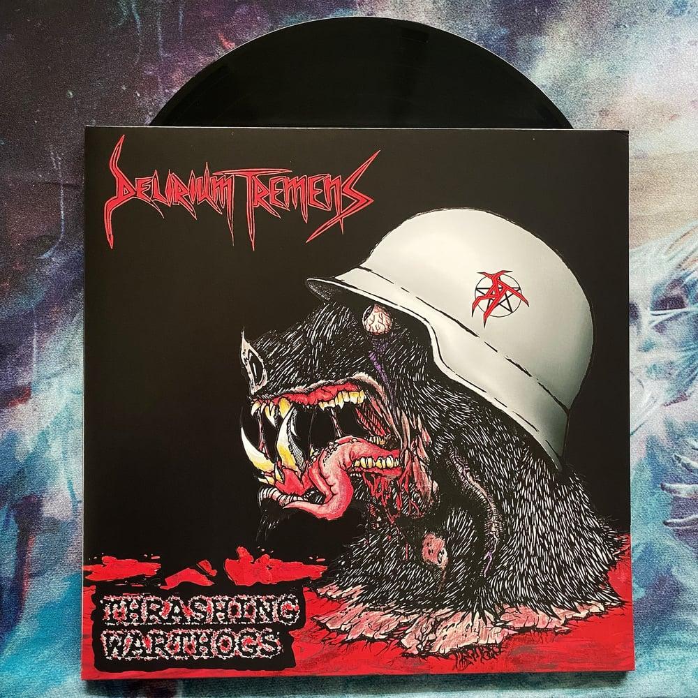 "Delirium Tremens ""Thrashing Warthogs"" LP"