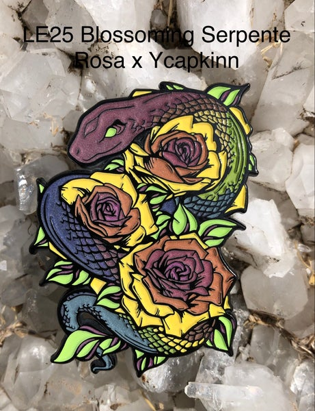 Image of Blossoming Serpente Rosa x ycapkinn