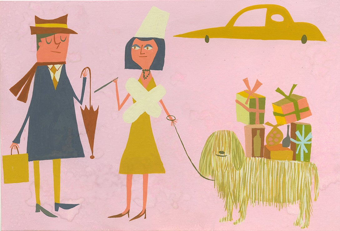 Image of Shopping. Limited edition print.