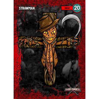 """Image of """"Strawman"""" Solo Card"""