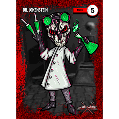 """Image of """"Dr. Lokenstein"""" Solo Card"""