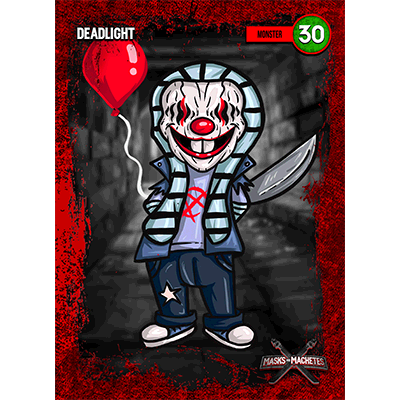"""Image of """"Deadlight"""" Solo Card"""
