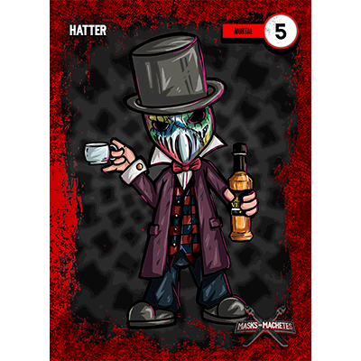 """Image of """"Hatter"""" Solo Card"""