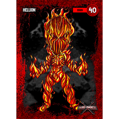 """Image of """"Hellion"""" Solo Card"""