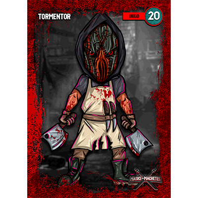 """Image of """"Tormentor"""" Solo Card"""