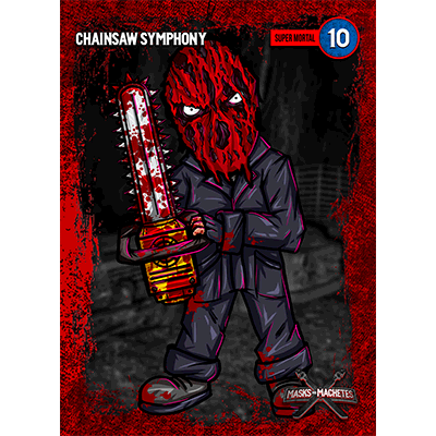 """Image of """"Chainsaw Symphony"""" Solo Card"""