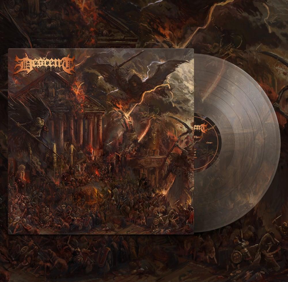 "Descent ""Order of Chaos"" LP/Long-sleeve Bundle"
