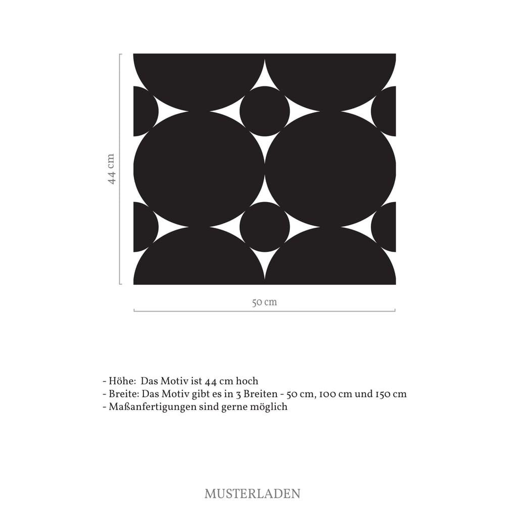 Image of Geometrische Folie für Fenster als Sichtschutz und Dekoration