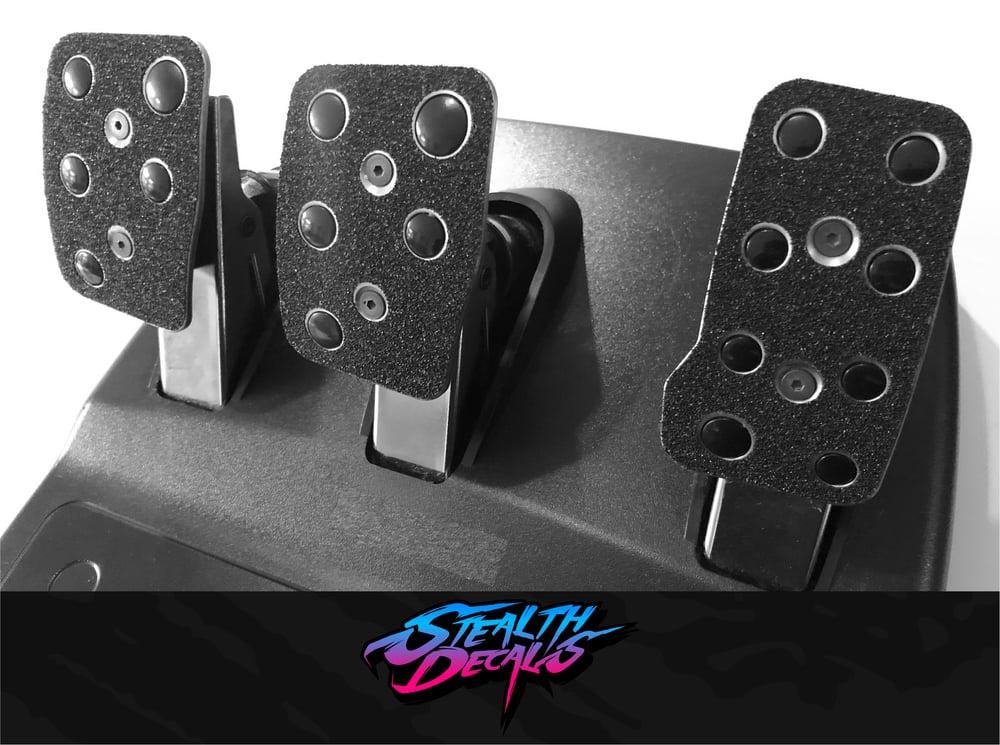 Image of Logitech Pedal Plate Grip Mod Decals G27/G29/G920