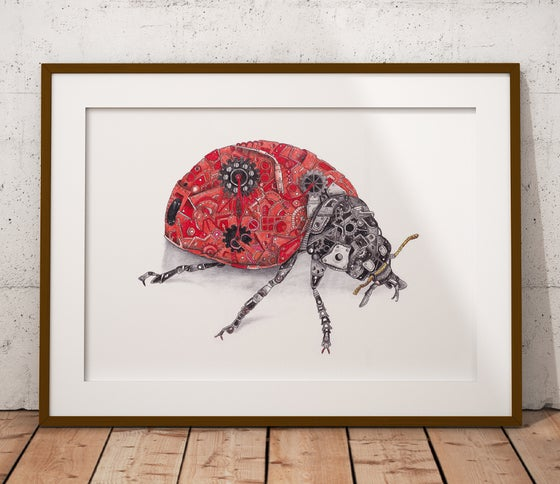 Image of The Steampunk Ladybird
