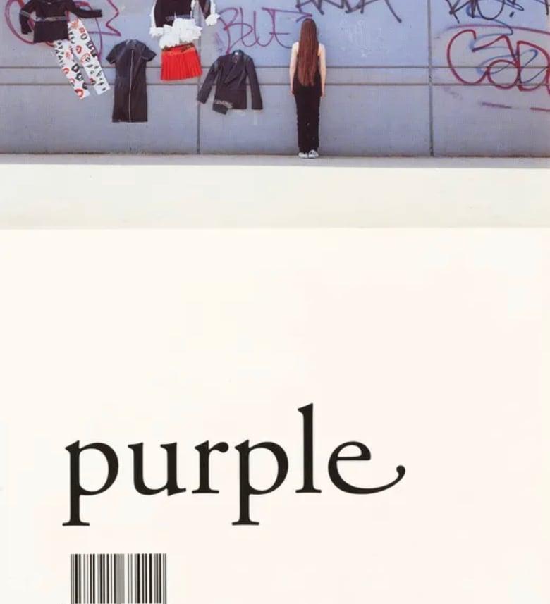 Image of (Purple Number 6) (Winter '00 '01)