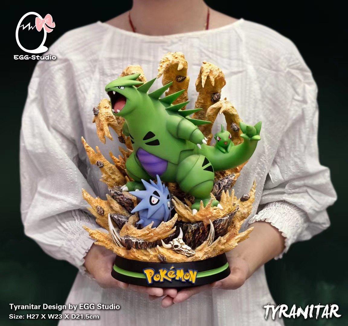 Image of [Pre-Order] Pokemon Egg Studio Resin Tyranitar Statue