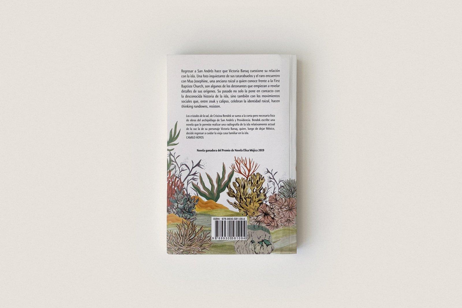Libro: Los cristales de la sal — Cristina Bendek