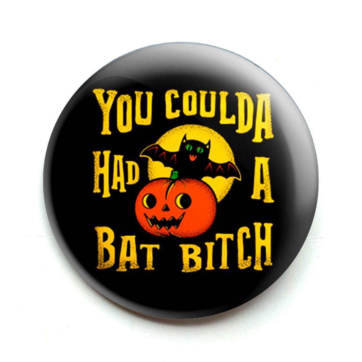 Image of Bat Bitch Bottle Opener/ Button/ Magnet