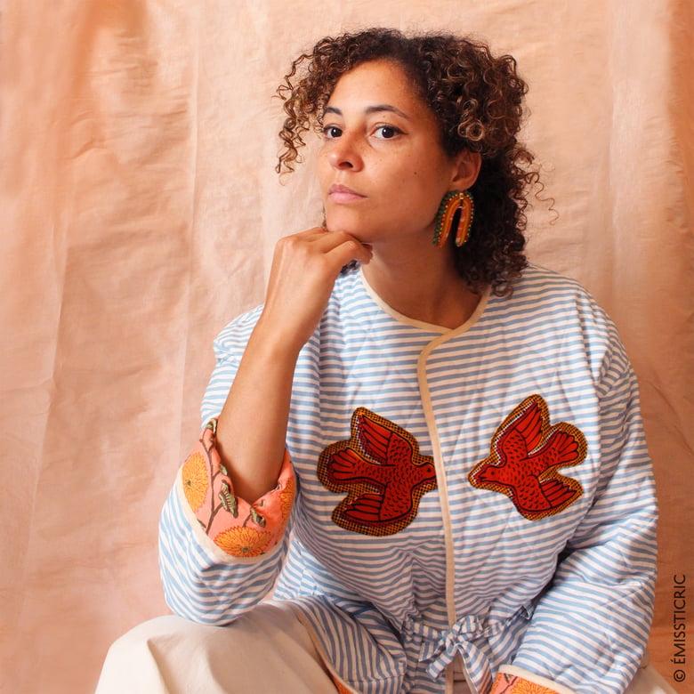 Image of Veste molletonnée Femme MARIN