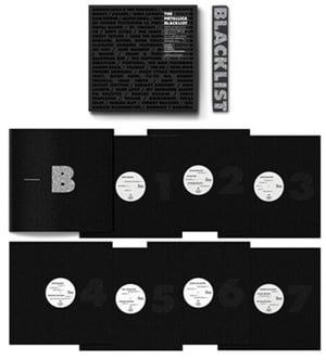Image of Metallica Blacklist (vinyl box)