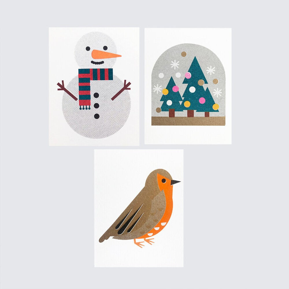 Image of Set of Six Christmas Cards A