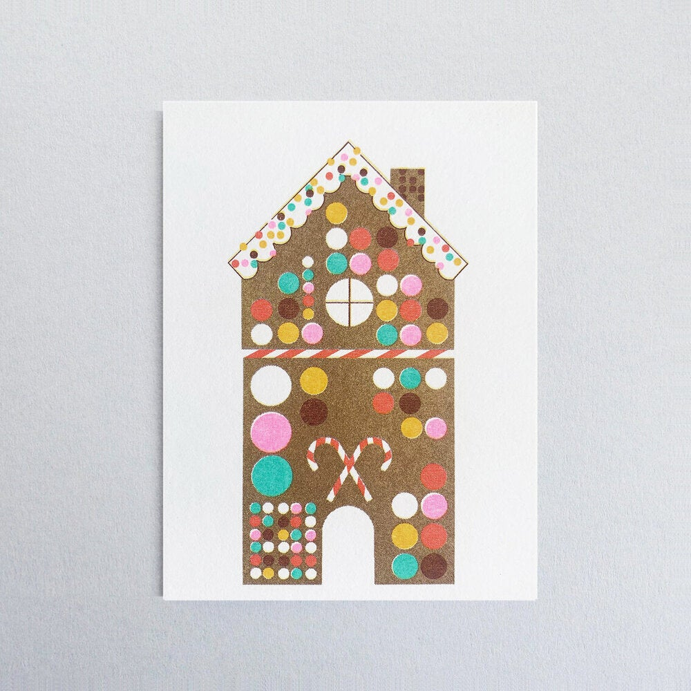 Image of Gingerbread Card