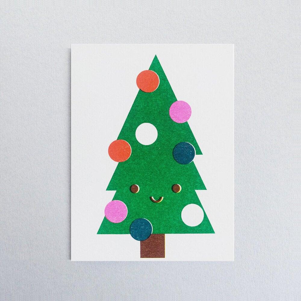 Image of Christmas Tree Card
